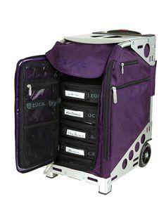 Would love for my makeup bag.  Pro Artist Royal Purple/Silver : ZÜCA Store