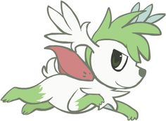 492. Sky Shaymin by HappyCrumble.deviantart.com on @deviantART