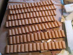 Come costruire piccole tegole per presepi e diorami ~ Il Mondo delle tegole