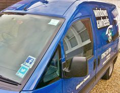 Helping turn your footfall into followers with our range of #Vantag #socialmedia window ☞ #tyfif #motorhappy