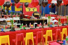 ninjago party Gallery