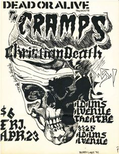 Cramps, Christian Death