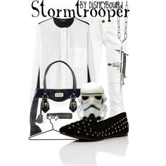 """Stormtrooper"" by lalakay on Polyvore #disney"