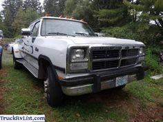 Dodge W350 D350 Ram Cummins Dually 4X4 Turbo Diesel Pickup Truck Manual 5 Speed - For Sale - Free Classifieds - TruckRvList.com
