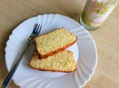 Citrónová babeta z rýžové mouky Cornbread, Banana Bread, Healthy Recipes, Healthy Food, Keto, Sweets, Ethnic Recipes, Desserts, Fitness