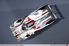 2012 Audi R18 e-tron quattro. Photo by Audi AG.