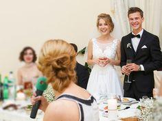Emotionen in der Hochzeitsrede und die richtige Körpersprache fesseln die Zuhörer