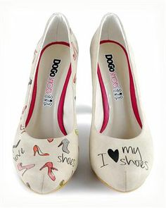 Dogo 'I Love My Shoes' Heels Made In Europe $69.00 #Dogo