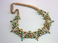 Tutorial  Astra necklace  Superduo beading Tutorial by zviagil