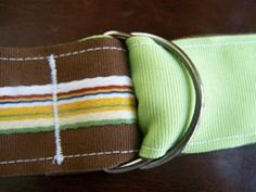 Ribbon belt (tutorial), nned to make some of these for the little guy! He's tall and skinny so no pants fit him!