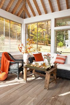 Include Autumnal Colors  - CountryLiving.com