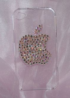 Bling Cell Phone Covers : Swarovski Crystal iphone Cell Phone Covers by The Dazzle Diva... this is probably the only one I can afford at $45