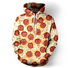 Pizza Hoodie -- beloved shirts.com