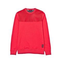 Felpa - IUTER - LAVA VENT- Red Fashionspacestore.com