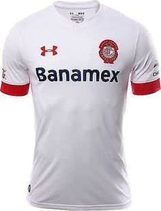 UA UNDER ARMOUR CLUB DEPORTIVO TOLUCA AWAY JERSEY 2015/16 MEXICO.