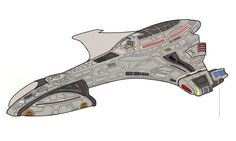 Hurricane class starship by SuricataFX