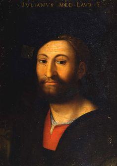 Signore in the Republic of Florence | 06 | Giuliano de' Medici, Duke of Nemours | 1513 - 1516 | Brother of Cardinal Giovanni de' Medici, third son of Lorenzo the Magnificent.