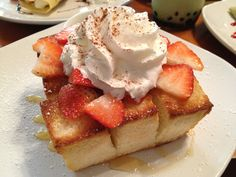 Up 2 You Cafe- San Diego, CA Honey Brick Toast w/ Condense Milk Brick Toast, Honey Bread, Honey Toast, Candy Pop, Cafe Shop, Milk And Honey, Dessert Recipes, Desserts, Confectionery