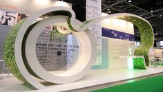 Creative Point of purchase displays and exhibition booths for trade-shows… Exhibition Stand Design, Trade Show Booth Design, Exhibition Stall, Exhibition Display, Kiosk Design, Retail Design, Stage Design, Event Design, Stand Feria