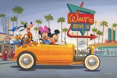"""Yellow Coupe"" by Manuel Hernandez 