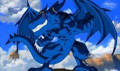 Title: Blue Dragon Character: Blue Dragon Type: Anime/Game Line Art and painting by me. Anime Fantasy, Fantasy Art, Game Character, Character Design, Dragon Poses, Dragon Hunters, Pokemon, Furry Pics, Dragon Ball Image