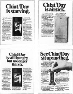 CHIAT\DAY - House ads - 1976