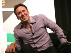 "Nicolas Cage speaks onstage at ""A Conversation with Nicolas Cage"" during the 2014 SXSW Music, Film Interactive Festival at Austin Convention Center on March 10, 2014"