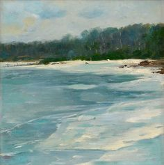Late Autumn on Aland - Victor Westerholm Finnish Oil on canvas, cm. Late Autumn, Painted Plates, Lake Water, Seascape Paintings, Oil On Canvas, Art Photography, Waves, Fine Art, Wall Art