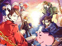 Kirby Series, King Dedede, Eoheoh, Meta Knight, Kikkun-mk-Ⅱ
