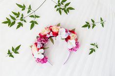 floral festival headband