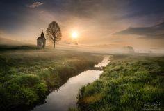 Foggy morning by Peter Zajfrid - Photo 208458799 / 500px