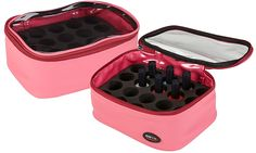 Seya Compact Nail Polish Storage Pouch (Pink) >>> See this great product.