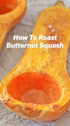 Roast Whole Butternut Squash, Roasted Squash Seeds, All You Need Is, Squash In Oven, Allergy Free Recipes, Veggie Recipes, Dinner Recipes, Whole 30 Recipes, Yummy Food