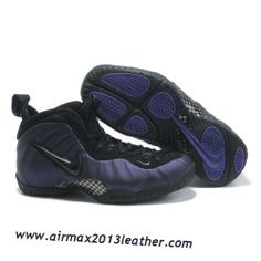 low priced 718f1 8c953 Nike Air Foamposite Pro Purple Varsity Black Orange Basketball Shoes, Nike  Basketball Shoes, Nike