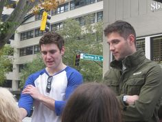 Emmet and Colm were in Atlanta! I must find Peachtree Street :)
