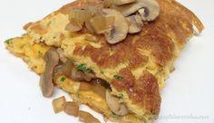 Balsamic Onion and Mushroom omelette Mushroom Omelette, Balsamic Onions, Clean Recipes, Bacon, Stuffed Mushrooms, Paleo, Healthy Eating, Breakfast, Food