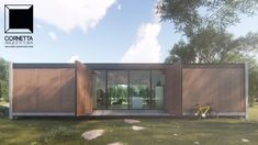 Projeto para loft pré-fabricado super moderno utilizando pré-moldados, estrutura metálica e madeira. #cornetta #arquitetura #cornettaarquitetura #lofts
