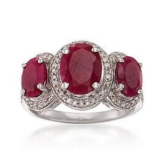 gorgeous ruby and diamond rings - Google Search