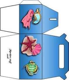 Borboleta Azul: Caixas Para Montar