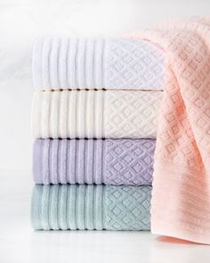 Diamond Towels by Cobra Trading at Horchow.