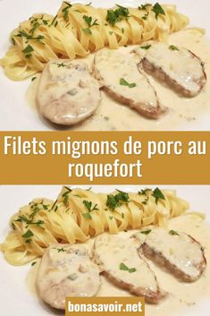 Roquefort pork tenderloins - Page 2 - Good To Know - Popular Recipes 2019 Healthy Eating Tips, Clean Eating Recipes, Healthy Drinks, Lunch Recipes, Beef Recipes, Appetizer Recipes, Cooking Recipes, Healthy Nutrition, Drink Recipes