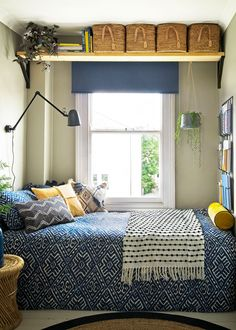 IKEA - Looking for bedroom storage ideas? These ingenious bedroom storage ideas are ideal for bedrooms. From wardrobes and shelving, to hidden storage and desks. Very Small Bedroom, Small Bedroom Storage, Small Space Bedroom, Shelves In Bedroom, Bedroom Storage Solutions, Bedroom Storage Ideas For Small Spaces, Small Room Interior, Small Bedroom Organization, Vanity Organization