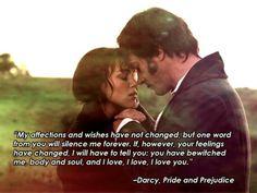 Mr. Darcy Pride & Prejudice