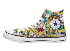 The Simpsons x Converse Spring 2014 Collection