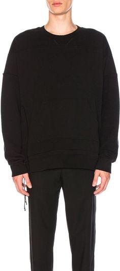 Maison Margiela Cotton Crew Neck Sweatshirt