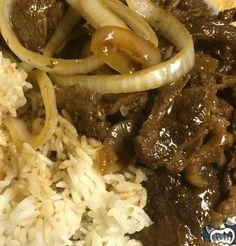 Bistek (beef steak)