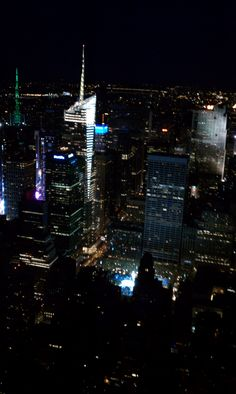 New York City - Top of the Empire State Building.  Circa 2011