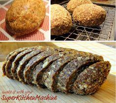 Raw Bread Recipe (gluten free) for Thermomix