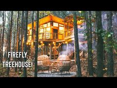 TREEHOUSE w/ A Swinging Bridge Full Tour!   My Favorite Treehouse Airbnb - YouTube Treehouse Living, Treehouse Cabins, Airbnb Host, Shed Homes, Tiny House, Remote, Tours, Island, House Styles