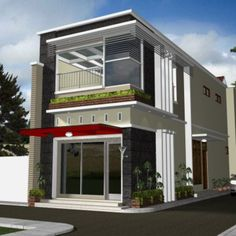 Filipino house design pictures with rooftop philippines bungalow designs and floor plans philippine two storey minimalist House Design Pictures, Modern House Design, Shop Interior Design, Modern Interior, Store Design, Style At Home, Metal Shop Houses, Filipino House, Pop Up